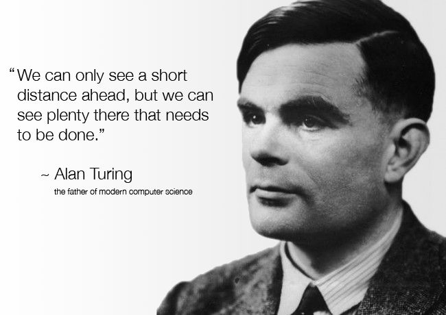 Quotes About Computer Science Students 15 Quotes: Alan Turing, Considered By Many To Be The Father Of
