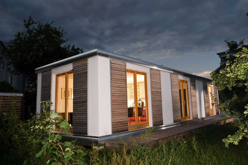 Smart Haus smart homes mobile immobilie haus cabin