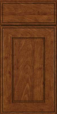 KraftMaid Cabinets -Square Raised Panel - Solid (AB1M) Maple in Cognac from waybuild
