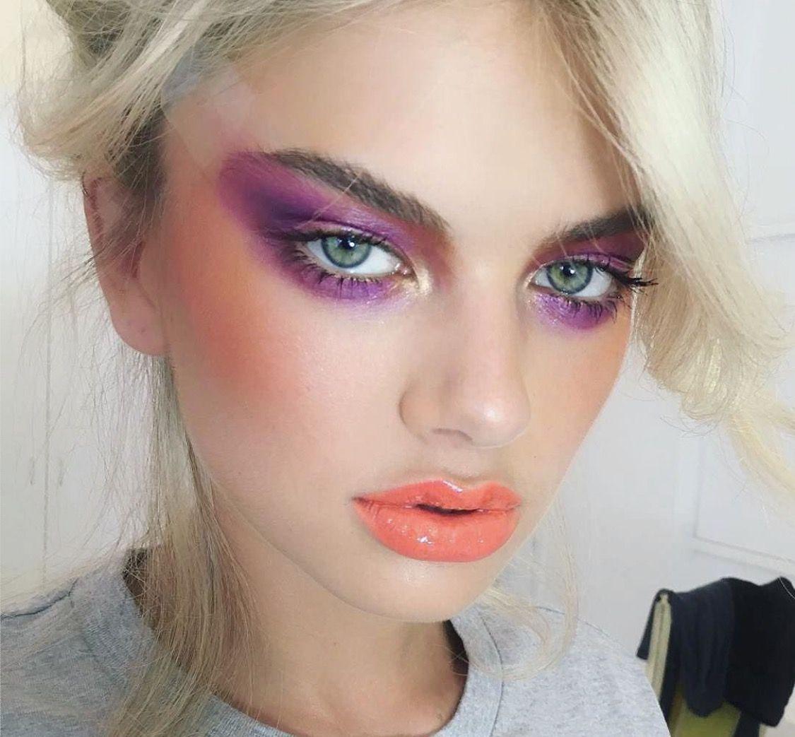 80S Editorial image by Émilie AszalosHalde Makeup