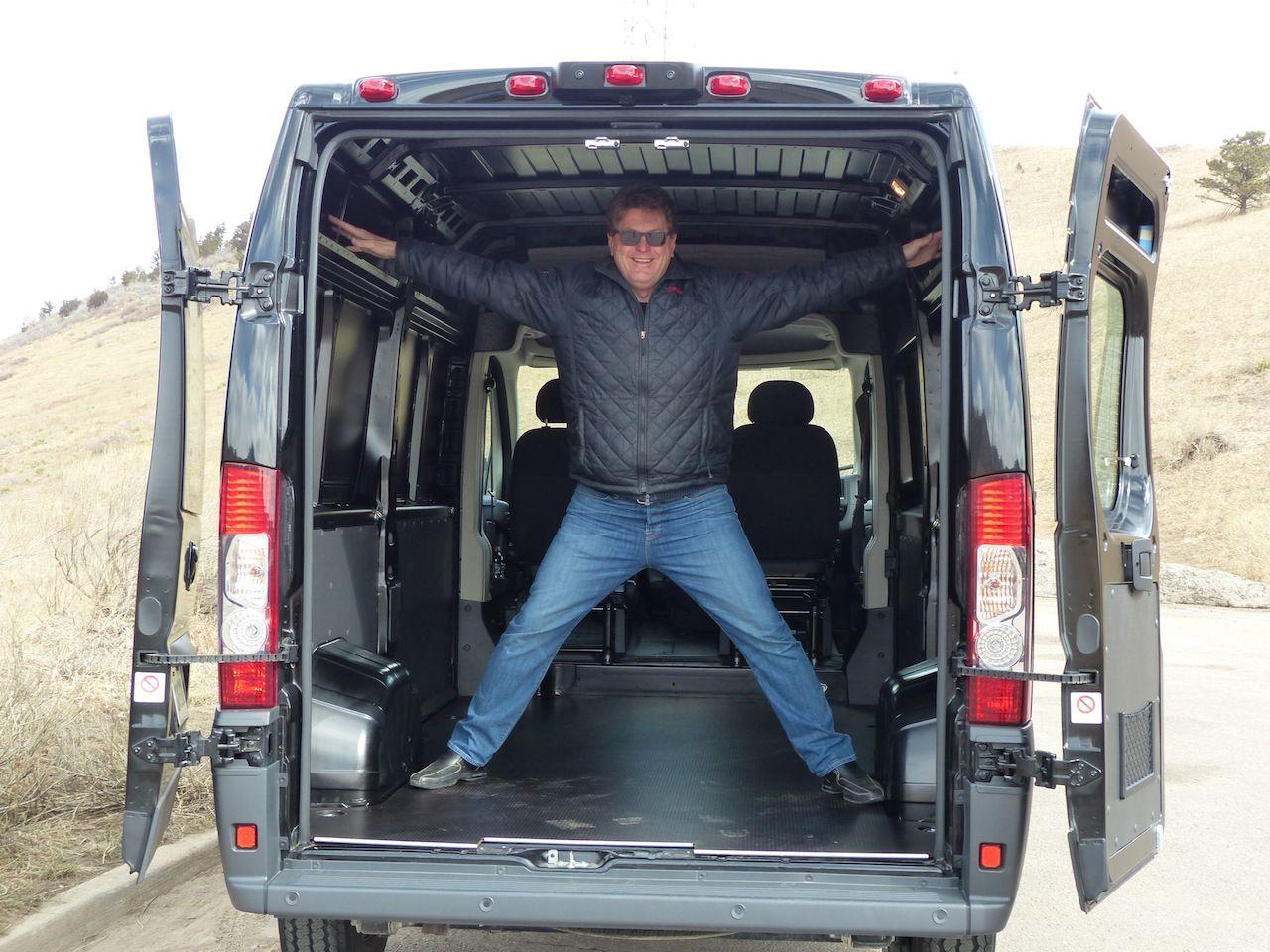 2014 Ram Promaster Work Van With Tflcar Com Host Roman