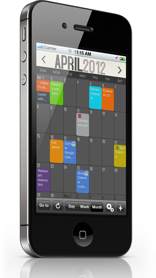 iCalendar V2.2 available on App Store iPhone calendar