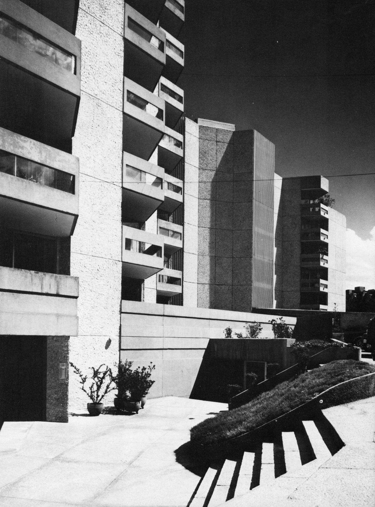 Apartments Fuente De Las Pir Mides Mexico City Mexico 1974  # Muebles Bernardo Leon