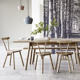 Whitstable Four-Legged Chair by Mathers & Hirst | Chairs | Chairs & Stools | Furniture | Heal's
