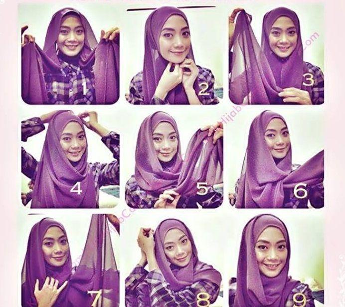 My Hijab Beautiful Eid Hijab Tutorial Hijab Tutorial Tutorial Hijab Modern Simple Hijab Tutorial