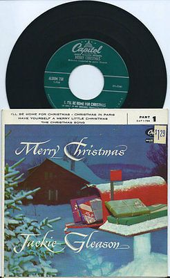 Christmas Songs And Album: Jackie Gleason - 1950S - Merry ...