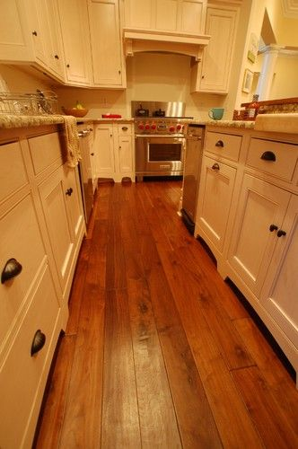 Traditional Wood Flooring French Country Walnut Footworn Texture