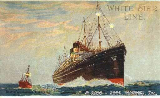 White Star ships RMS Baltic.