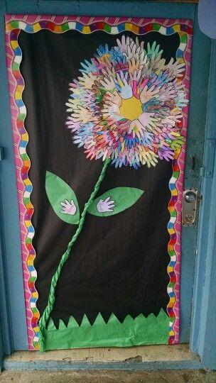 Deciracion para salon de clases decoraci n para el sal n for Decoracion de puertas escolares