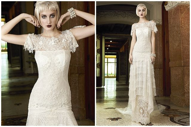 1920s Wedding Dress Inspiration From Yolan Cris Mademoiselle Vintage