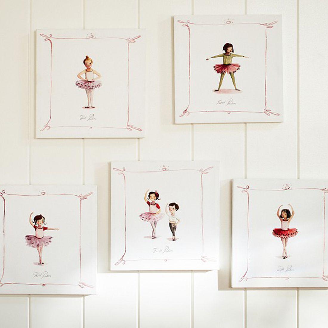Dainty Room Decor For Your Budding Ballerina