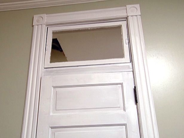 Interior Door Moulding Ideas window trim moulding craftsman style door surround moldings inside historic bunglaow in Molding For Interior Doors And Transom Wstained Glass