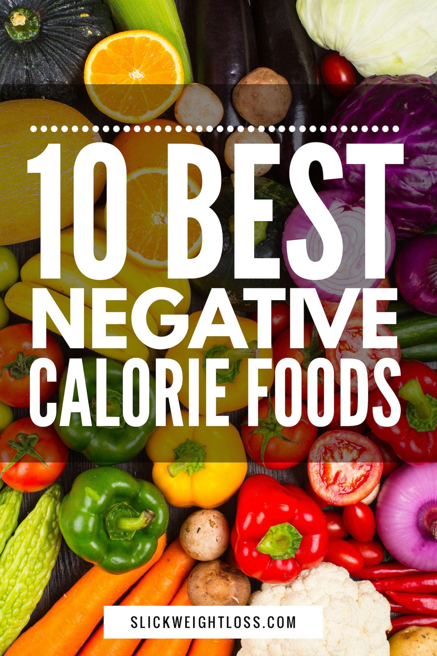 Negative Calorie Foods (With images) Negative calorie
