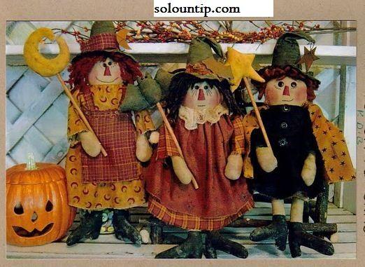 Muñecos para halloween-moldes