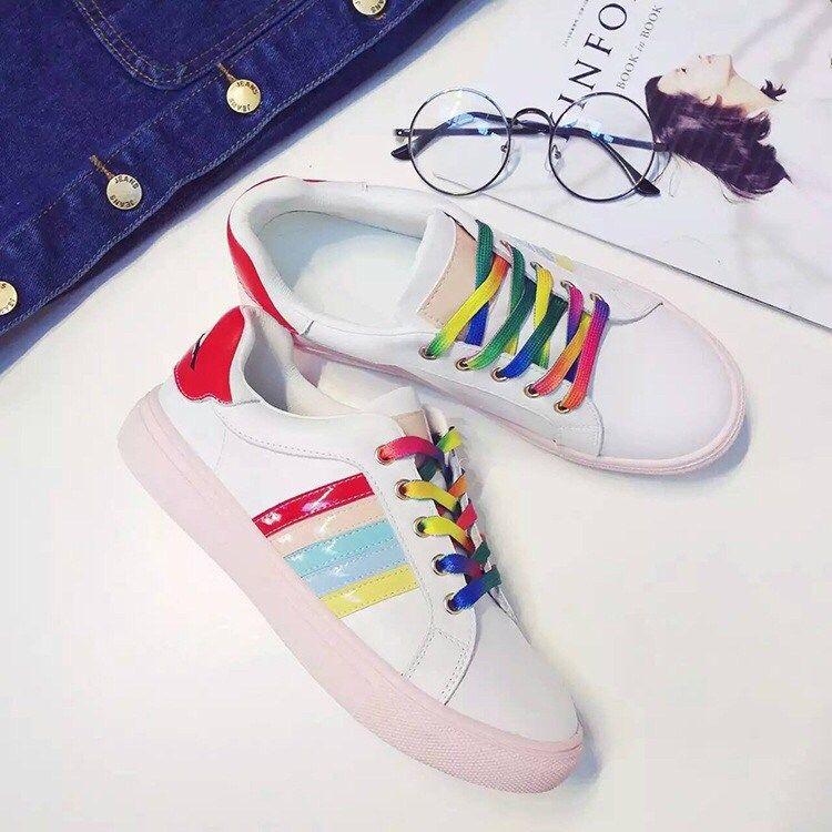 2 Pairs Flat Athletic Shoe Laces Canvas Sneaker Shoelaces Unisex Shoe Strings