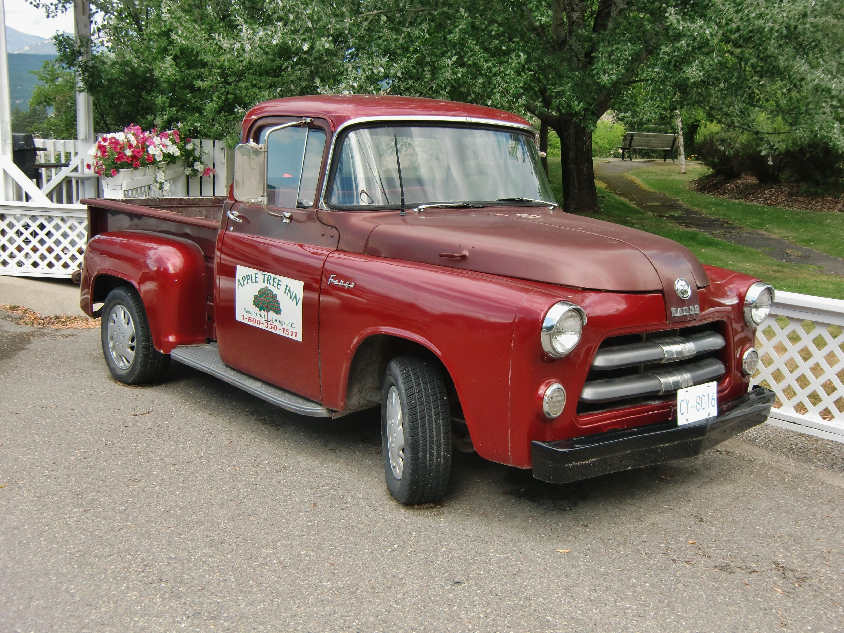 1955 Fargo (Canadian badging of Dodge) truck. Photography