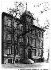 hannover linden ohestrasse damaliges j disches bildungszentrum im september 1941 wurden beide. Black Bedroom Furniture Sets. Home Design Ideas