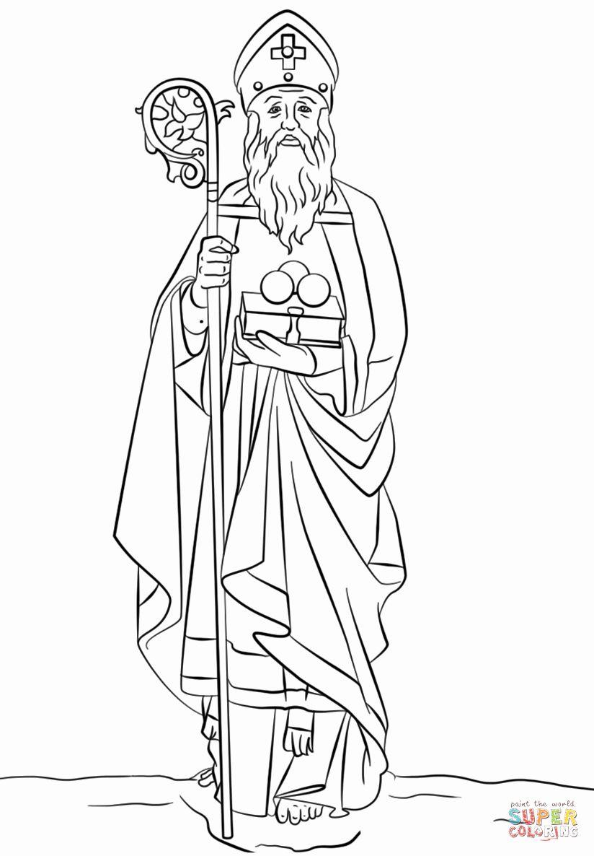 St Nicholas Coloring Page Inspirational St Nicholas Coloring Page In 2020 St Nicholas Day Coloring Pages Saint Nicholas