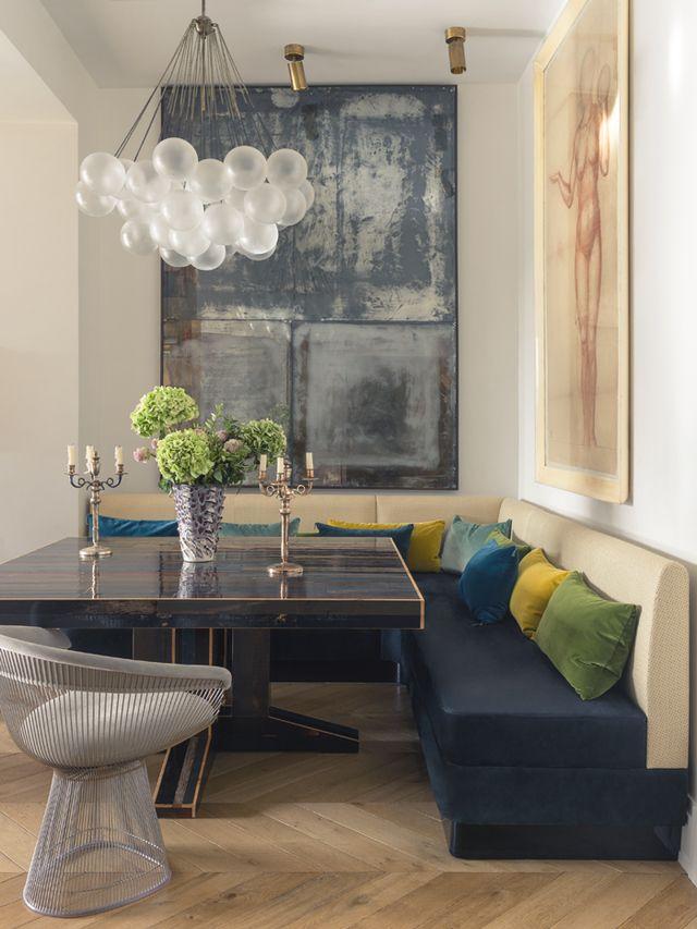 L\u0027appartement parisien de Laura Gonzalez West Newton Street