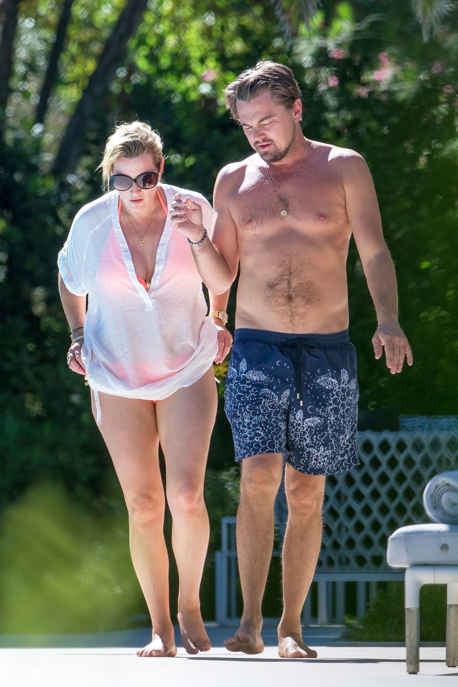 Leonardo Dicaprio And Kate Winslet Vacationed In St Tropez