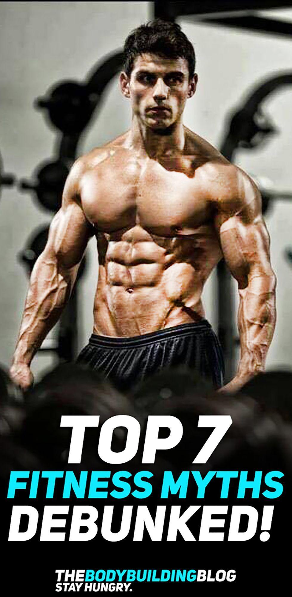 #Debunked #Fitness #FitnessTransformationrealistic #Health #Myths #THEBODYBUILDINGBLOG #Top Top 7 He...
