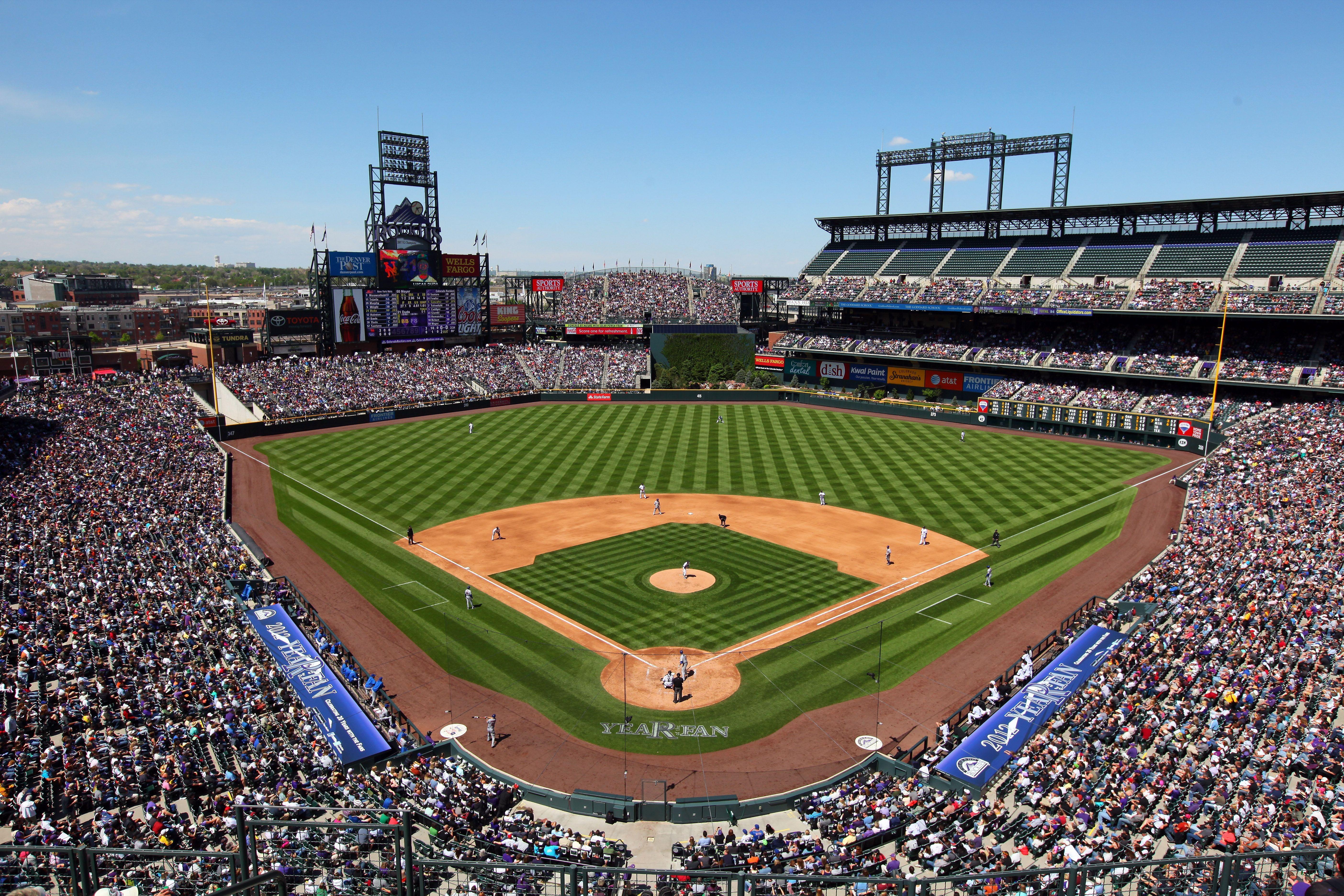 Coor Field Home To The Colorado Rockies