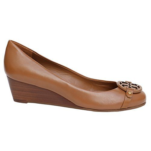 6cc94912adeccc TORY BURCH Tory Burch Mini Miller Veg Nappa Leather Wedge Shoes Pump Tb  Logo.  toryburch  shoes  shoes