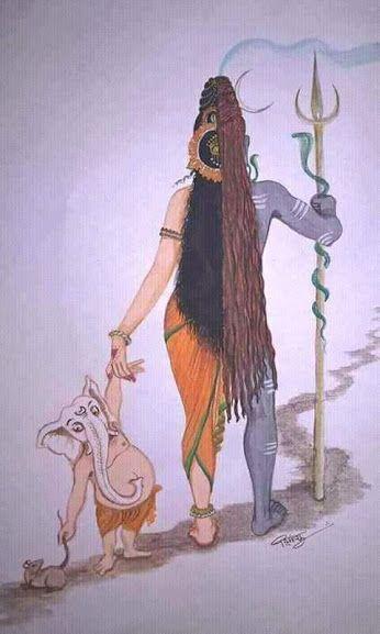 Ardhanarishvara and Ganesha                                                                                                                                                                                 More