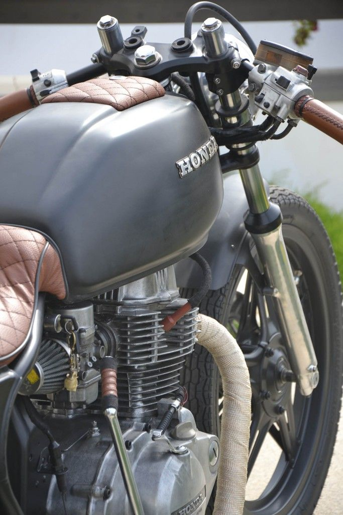 Emanuel S Cafe Racer Honda Cb400 Cafes And