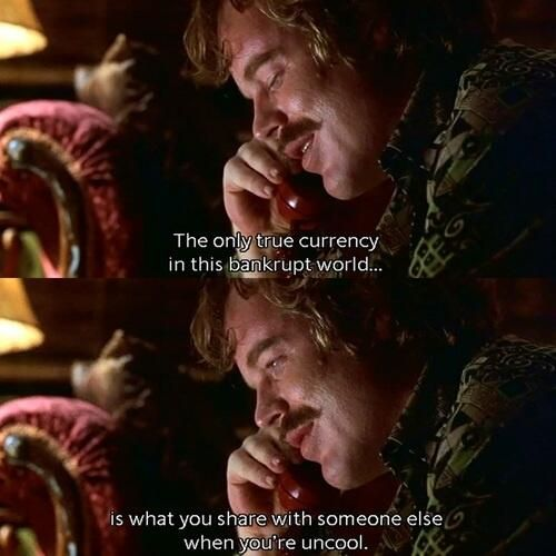 Phillip Seymour Hoffman in Almost Famous Lester Bangs