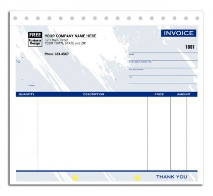 Compact Designed Invoice Forsm 107T Put your best professional - business invoice forms