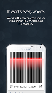 Beep'nGo App for Samsung Galaxy users  Students can scan