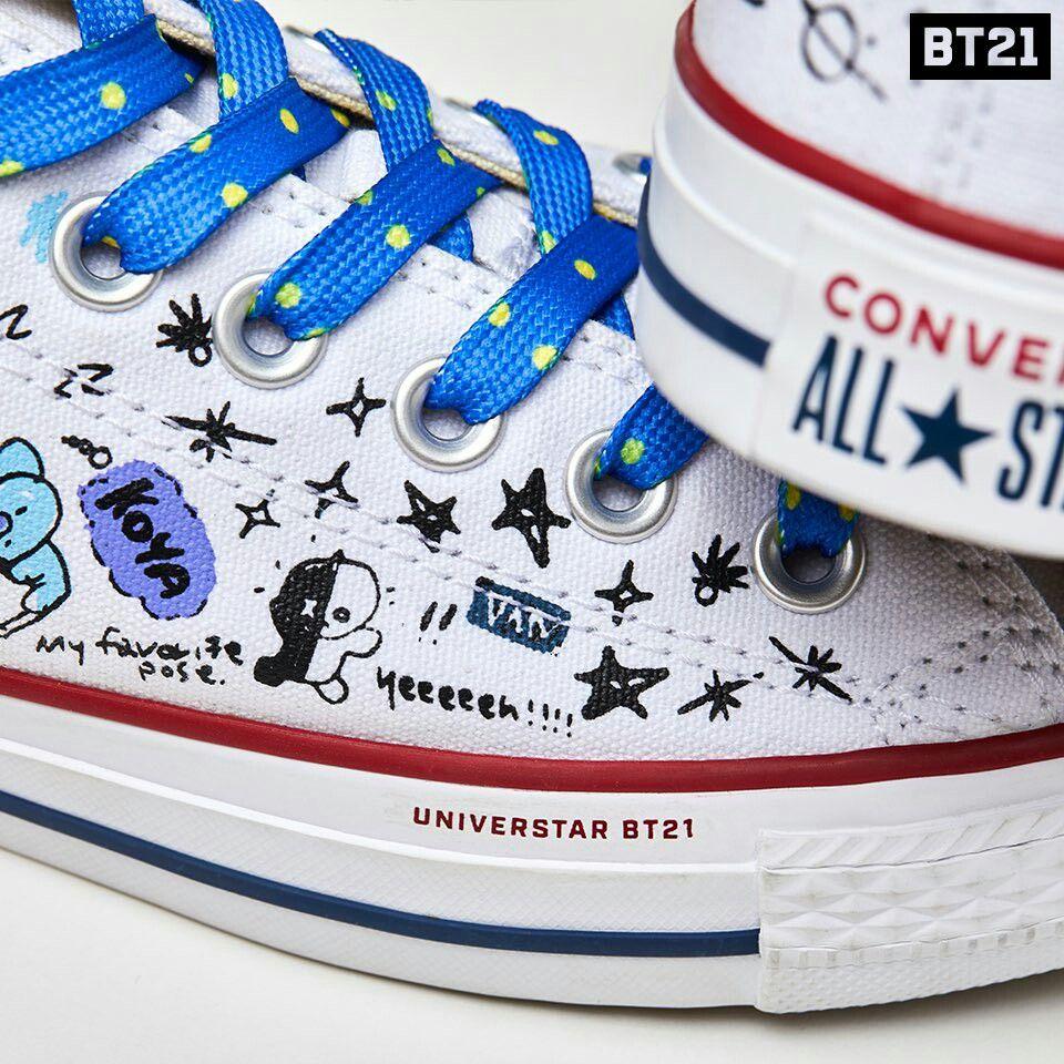 BT21 on en 2020 | Zapatos converse, Accesorios y Zapatos