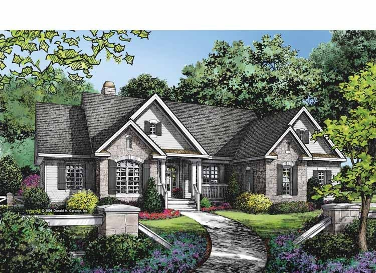 Ranch Style House Plan 4 Beds 3 Baths 2388 Sq Ft Plan 929 876 Ranch Style House Plans Craftsman House Plans Ranch Style Homes