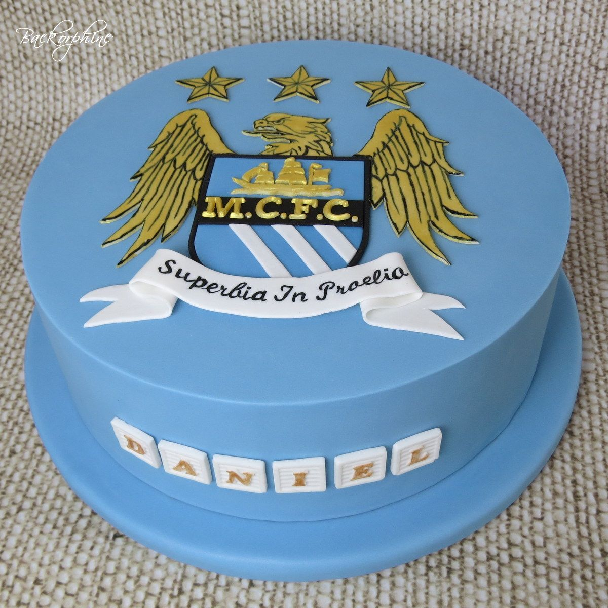 TUTORIAL 2D Manchester City Logo | City cake, Soccer ball ...
