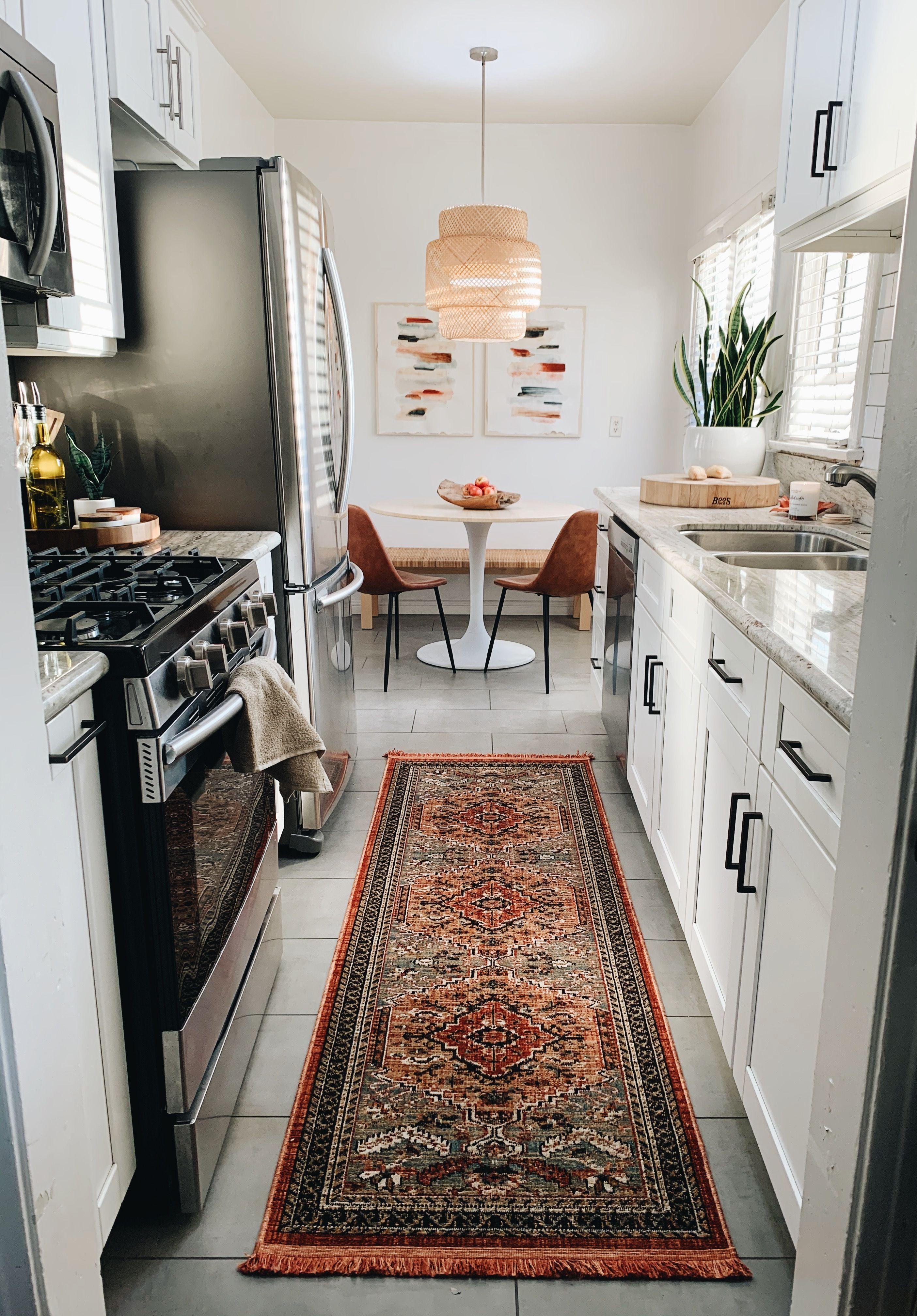 Kitchen Makeover Xo Macenna Kitchen Makeover Rental House Decorating Boho Chic Kitchen