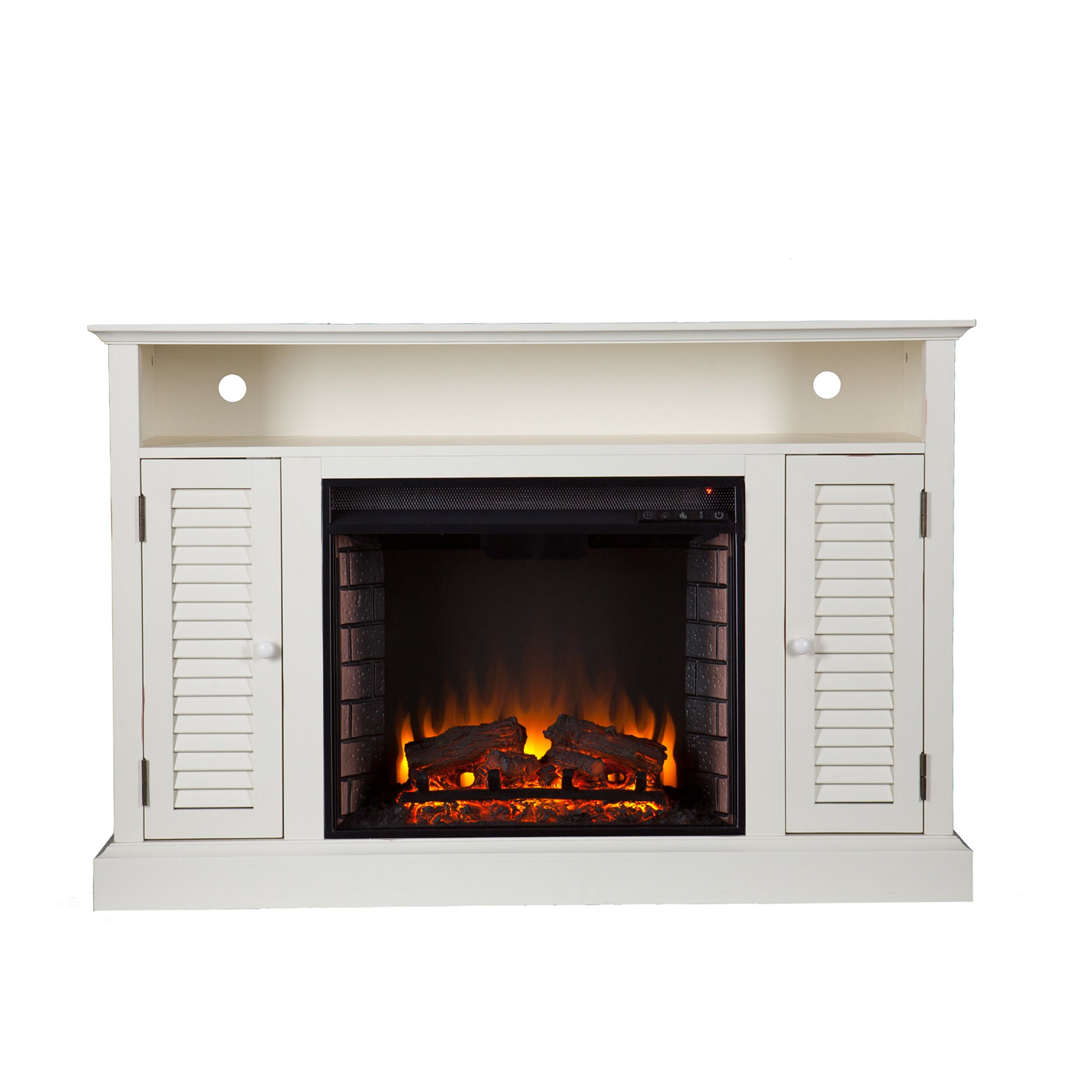 Customer Image Zoomed Electric fireplace tv stand