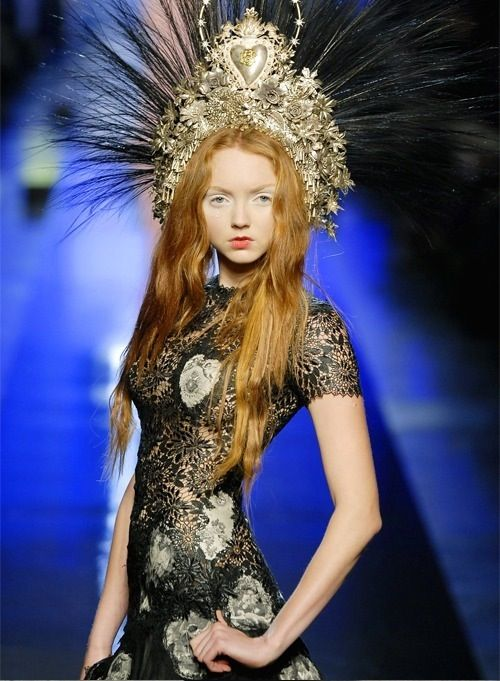 Lily Cole is my favorite model of the 2000's.