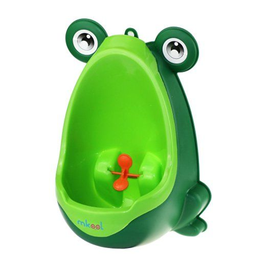 Mkool Cute Frog Potty Training Urinal For Boys With Funny Aiming Target Potty Training Boys Potty Training Urinal Toddler Potty Training