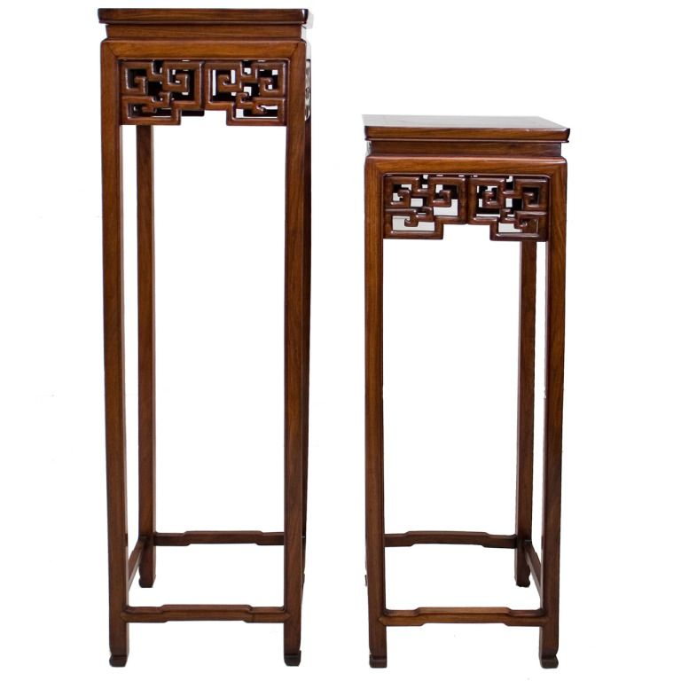 Cheap Antique Furniture For Sale Online: Chinese Square Hardwood Stand