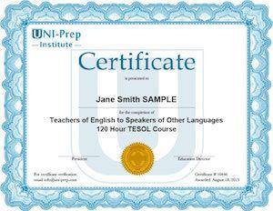 Online Tesol Certificate Online Education Programs