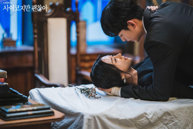 Pin By K Drama Kpop Fan On It S Okay To Not Be Okay Korean Drama Kim Soo Hyun Drama