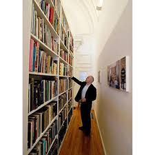 No room for library so live the idea if turning my hallway into one to store all my books!