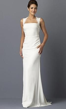 Used Nicole Miller Wedding Dress D10014 Size 4