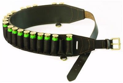 Cartridge Belt. This leather cartridge belt is one of those essential items of shooting or hunting equipment handmade to last, by skilled leather smiths in top quality saddle leather. $