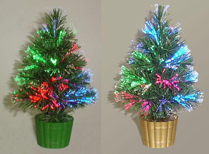 Battery Christmas Tree And Mini-fiber Optic Christmas Tree
