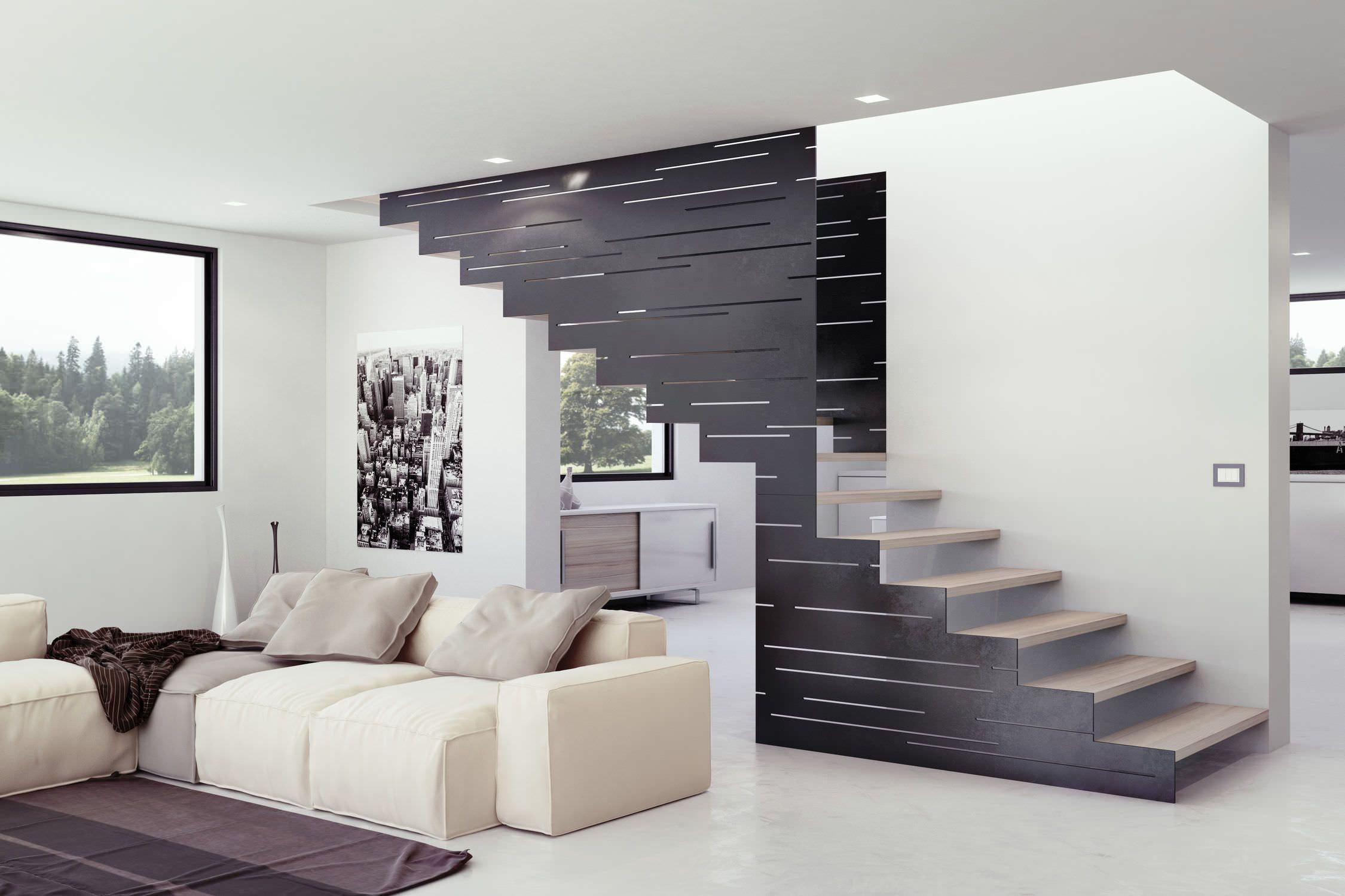 Risultati immagini per scala autoportante legno scale