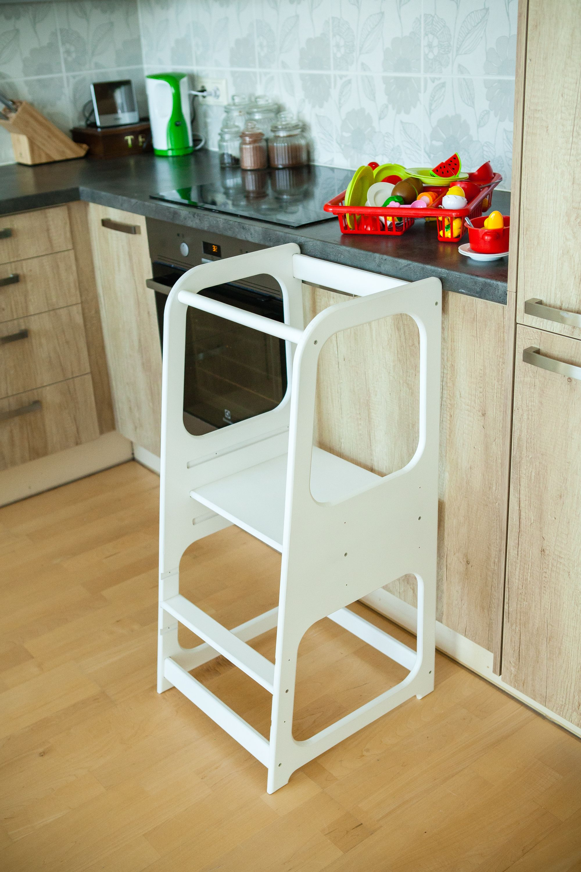 Kitchen Helper Kitchen stool Safety stool Toddler step stool ...