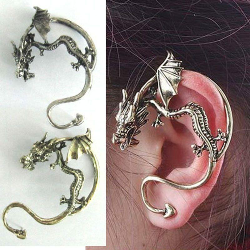 Dragon earring / cuff
