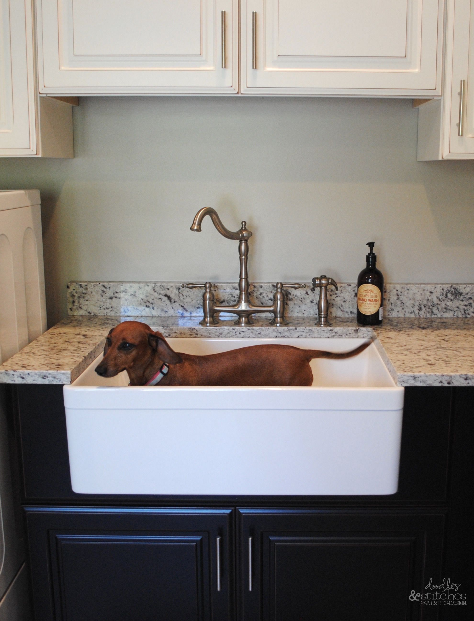 Charming Laundry Room Or Doggie Bath? Love This Sink For Bathing The Dog Or Hand  Washing